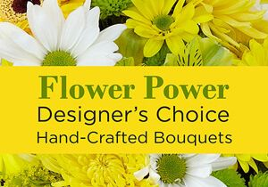 Yellow Flower Power - We Can Arrange That!