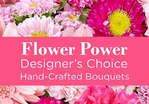 Pink Flower Power - We Can Arrange That!